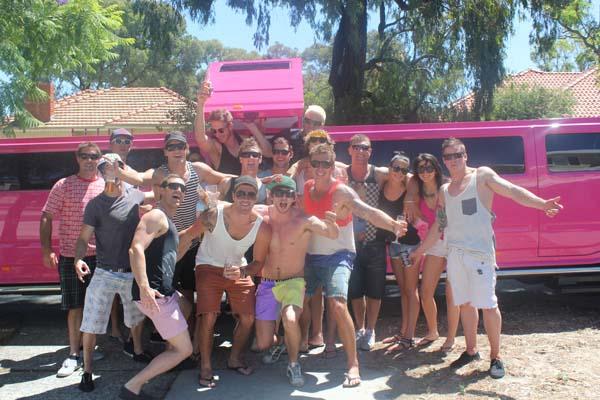 Belvoir Festival Pink Hummer Limousines Service Perth